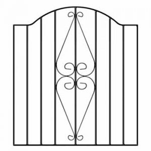 hesb henley scroll single gate 2
