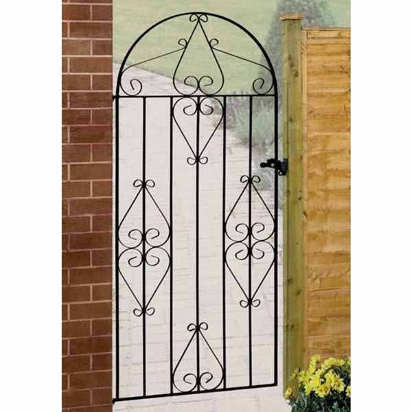cb40 classic scroll bow top single gate
