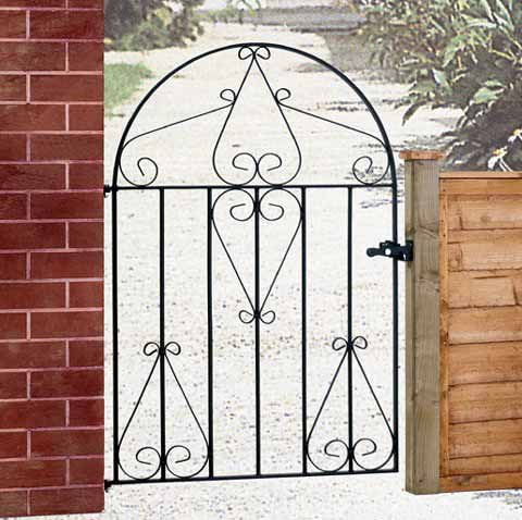 clb51 classic scroll low bow top gate