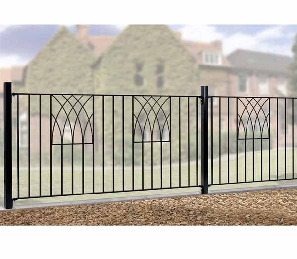 Metal Garden Fencing U2013 Verona Range