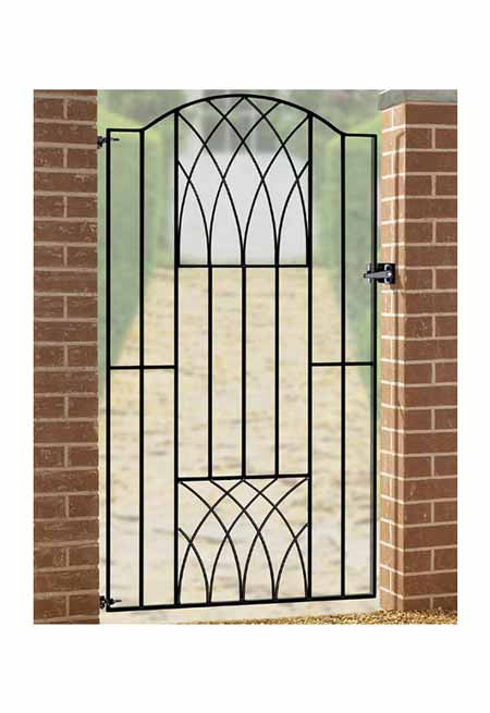 vetb verona modern tall single gate