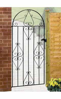 Arched Iron Gate - Regent Scroll Range