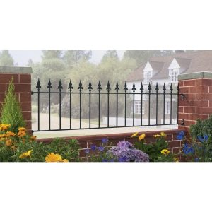 Gaelic Safety Fleur-De-Lys Spear Top Railing Panel