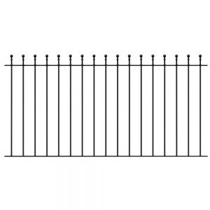 Manor Ball Top Fence Panel