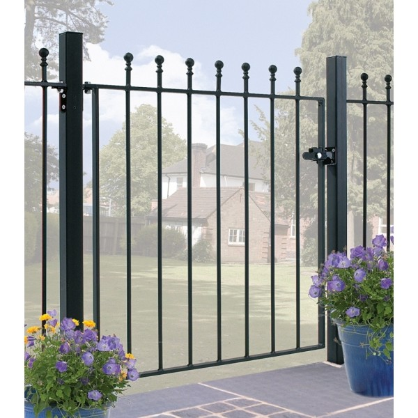 Manor Ball Top Single Gate 4ft