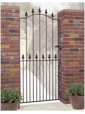 Saxon Fleur-De-Lys Spear Top Tall Single Gate