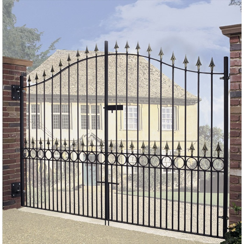 Double driveway gate archives supreme ironworks the uk