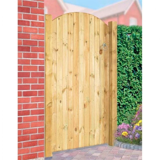 Carlton Wooden Bow Top Tall Single Gate