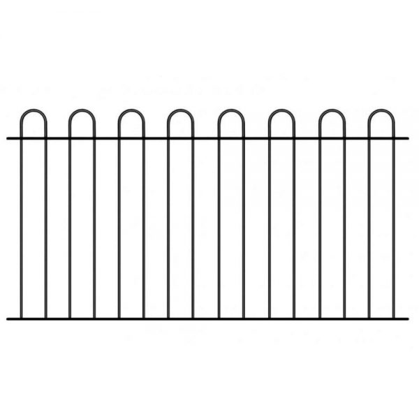 Court Hoop Top Fence Panel