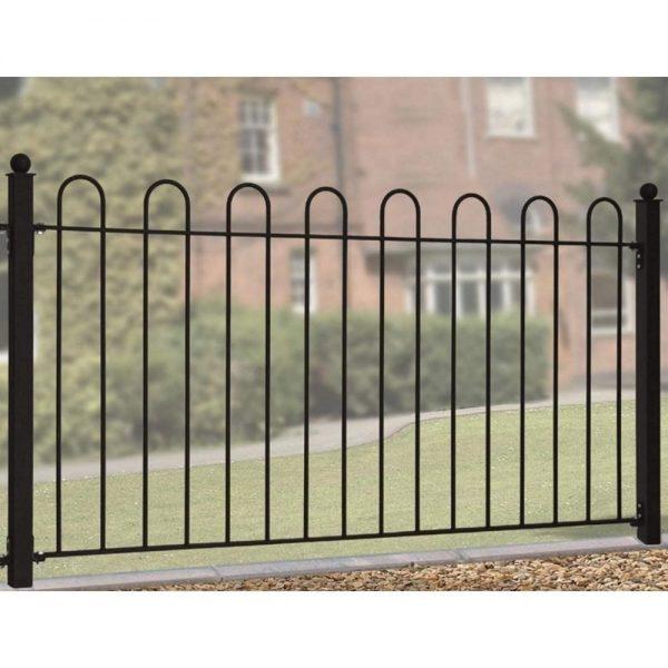 Court Hoop Top Fence Panel
