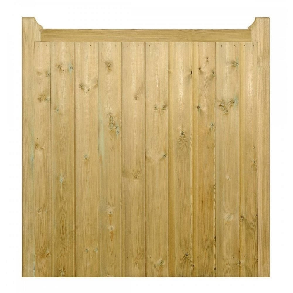 Drayton Square Top Wooden Low Single Gate