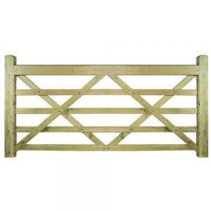 Evington Wooden Farm Style Gate Large