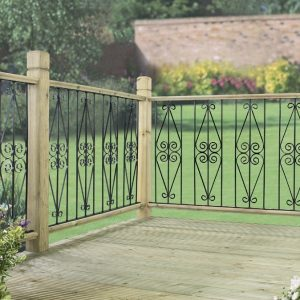 Metal Deck Fencing Panels Ascot