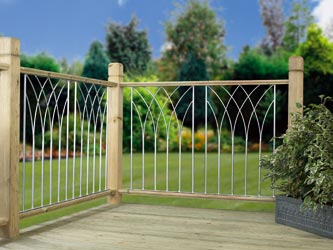 Metal Deck Fencing Panels Bali