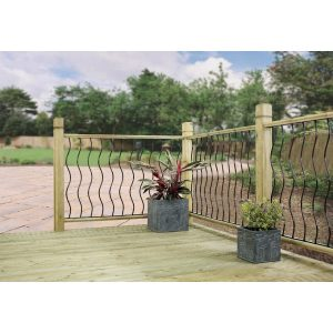 Metal Deck Fencing Panels Coast