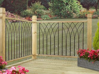 Metal Deck Fencing Panels Java