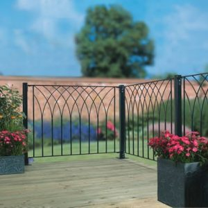 Metal Deck Fencing Panels Nova