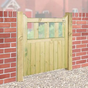 Quorn Wooden Single Garden Gate