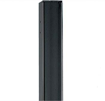 UBRP 50mm Square Metal Post Flat Top