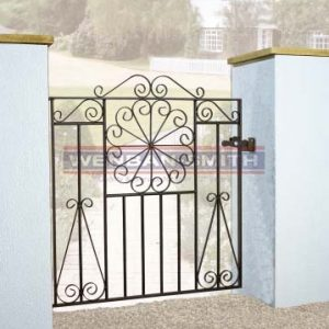 Edinburgh Scroll Single Gate